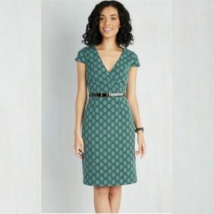 ModCloth Peace and Clients Polka Dots Shift Dress
